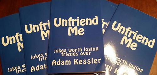 Unfriend Me joke book available on amazon.com